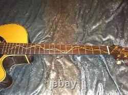 2000 Takamine limited ltd Acoustic Guitar Made in Japan mint condition