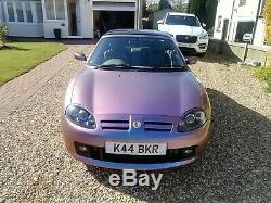 2003 MG TF Monogram Chromactive Limited Edition 1 Of 26 Pristine Condition