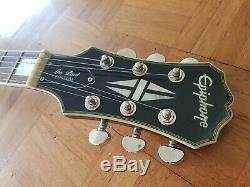 2010 Epiphone Les Paul Custom, Ssilverburst Limited Edition Beautiful Condition