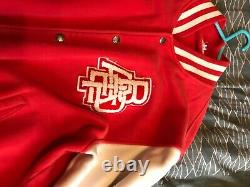 A bathing ape BAPE varsity jacket xl 2005 perfect condition, authentic