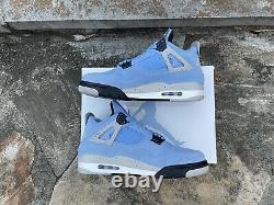 Air Jordan Retro 4 University Blue Size 9 CT8527-400 GREAT CONDITION