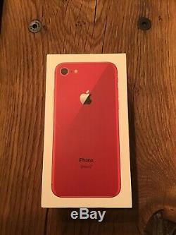 Apple iPhone 8 64db Red Product Limited Edition Unlocked Excellent Condition