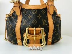 Authentic Louis Vuitton Theda GM monogram Top condition LIMITED EDITION