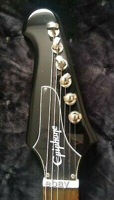 Awesome Ltd Edition Epiphone Firebird Guitar Mint Condition Cost £595
