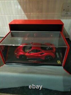 BBR 1/18 Ferrari 488 Pista F1 2007B Red 1 of 28 Ltd Rare Display Great Condition
