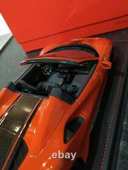 BBR 1/18 Ferrari 488 Pista Spider 1 of 48 Ltd Very Rare Display Great Condition