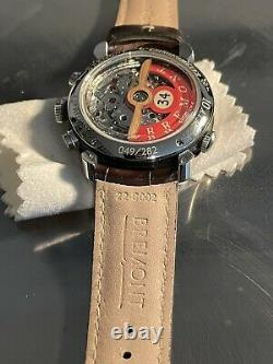 BREMONT DH-88 Stainless Steel. Limited Edition, MINT SHOWROOM CONDITION