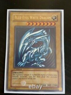 Blue-eyes White Dragon SDK-E001 1st Edition Perfect condition