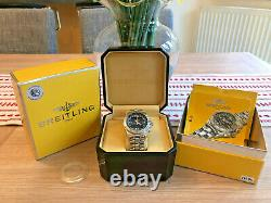Breitling B1 bracelet watch A68362, excellent used condition with box & papers