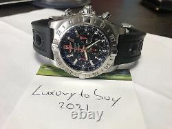 Breitling Chronomat 47 GMT Limited Edition AB0412. Mint condition with box