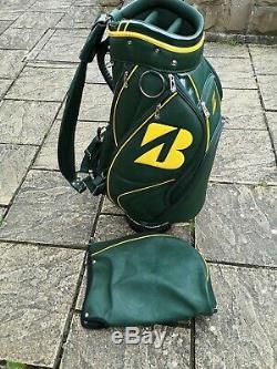Bridgestone US Masters limited edition golf midsize Cart bag excellent condition