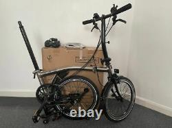 Brompton S6L 2016 Nickel Special Limited Edition Bike Excellent Condition