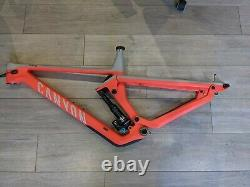 Canyon Strive CFR LTD Carbon 29 Frame Large With Shape shifter. Fox Dpx2