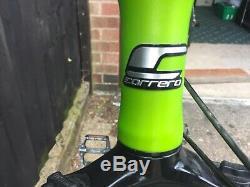 Carrera Sulcata Limited Edition Green Mountain Bike 20 Frame V. G condition
