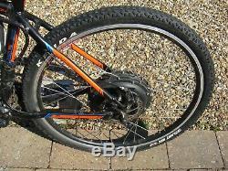 Carrera Sulcata Ltd Edition 7005 T6 electric bike. Repair needed. Condition VG