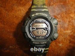 Casio G-Shock Mudman Men's Camouflage Watch G-9000MC-3 RARE MODEL MINT CONDITION