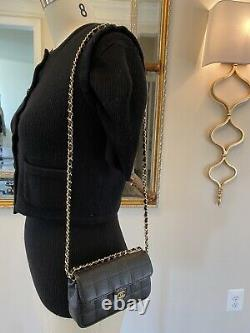 Chanel Fanny Pack Waist Bum Belt Bag Excellent Condition With Crossbody Chain Op