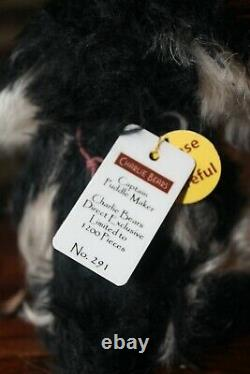 Charlie Bears Captain Puddlemaker Mohair Limited Edition Excellent Condition