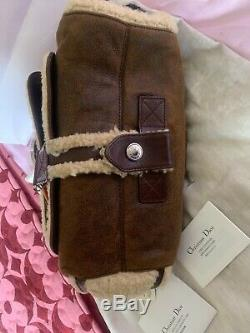 Christian Dior Flight Handbag Excellent Condition With Tags Store & Dustbag