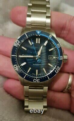 Christopher Ward C60 Blue Limited Edition- Excellent Condition