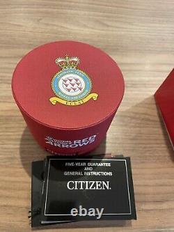 Citizen Eco Drive Red Arrows Ltd Edition JY0110-55E Mint Condition
