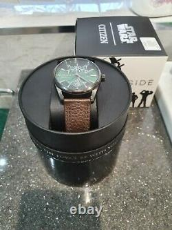 Citizen STAR WARS DRAGOBAH LIMITED EDITION Watch Eco-Drive mint condition