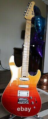 Cort G-LTD16 Java Sunset Electric Guitar, Excellent Condition