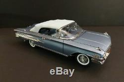 DANBURY MINT Chevrolet Impala Convertible 1960 Ltd Ed 124 Mint Condition (33)