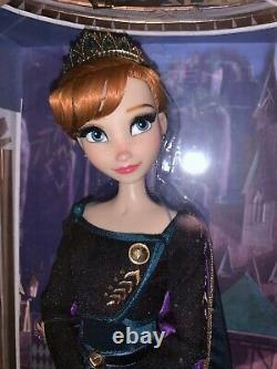 Disney Limited Edition Queen Anna 17 Doll From Frozen 2, New & Mint Condition