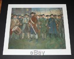 Don Troiani Lexington Commons Revolutionary War Print Mint Condition