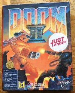 Doom II 2 Big Box (PC CD-ROM) Limited Edition Good to Very Good Condition