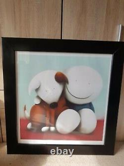 Doug Hyde limited edition print Friendship framed perfect condition