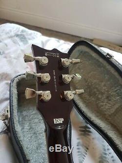 ESP LTD EC-1000T Guitar Amber Burst Excellent Condition
