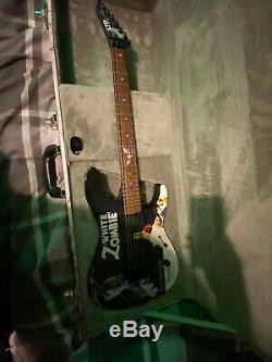 ESP LTD KH-WZ White Zombie Kirk Hammett Excellent Condition