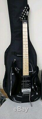 ESP LTD MH-53 Black Electric Guitar nice condition with case