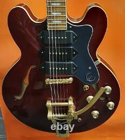 Epiphone Limited Edition Riviera Custom P93 (Wine Red) USED Great Condition