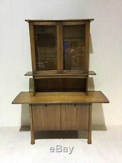 Ercol Kelmscot Rare Shape Limited Edition Cabinet Dresser Desk Sideboard