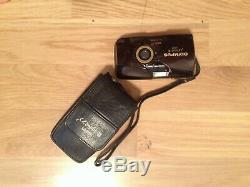 Excellent condition OLYMPUS mju II Limited edition 35mm All-weather