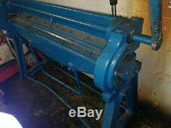 F. J edwards ltd. Sheel Metal Bending Machine. Fully Working. Good condition