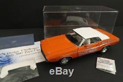 FRANKLIN MINT Dodge Challenger Pace Car 1971 Ltd Ed 124 Mint Condition (220)