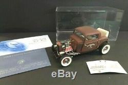FRANKLIN MINT Ford Rat Rod 1932 Ltd Ed 124 Mint Condition (79)