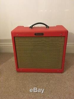 Fender Blues Junior III amp Ltd Edition Texas Red Used but great condition
