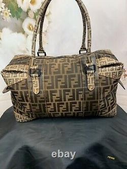 Fendi Zucca Spalmati B Mix Large Tote Authentic Mint Condition Amazing MSRP$3995