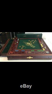 Franklin Mint Limited Edition Monopoly Set Very Good Condition