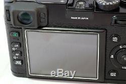 Fujifilm Fuji X100 Limited Edition digital camera, Black, Excellent Condition