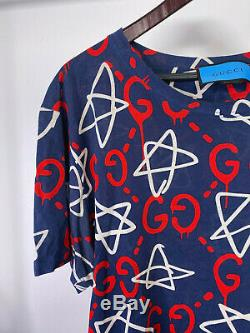 GUCCI Ghost T Shirt Limited Edition Artist Trouble Andrew PERFECT CONDITION