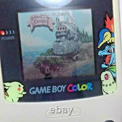 Game Boy color Pokemon Center limited edition with BOXED good condition