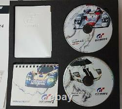 Genuine Gran Turismo 4 GT4 PS2 Limited Edition Press Kit Mint Condition