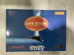 HORNBY R1041 live Steam Locomotive Set Mallard LNER Live Steam-Mint Condition
