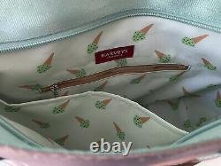Harveys Seatbelt Bag Mini Streamline Mint Chip Excellent Condition